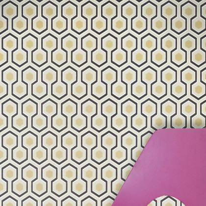 Cole and Son Hicks Hexagon Wallpaper