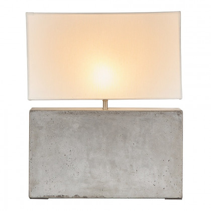 Andrew Martin Cooper Concrete Table Light