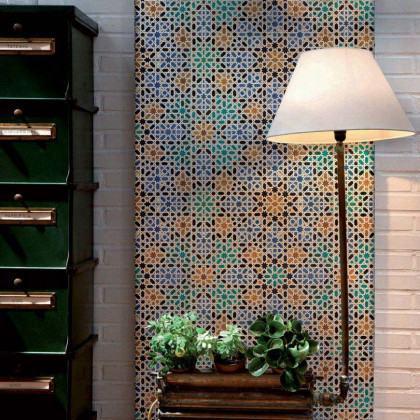 Coordonne Wallpapers Alandus Tiles Wallpaper