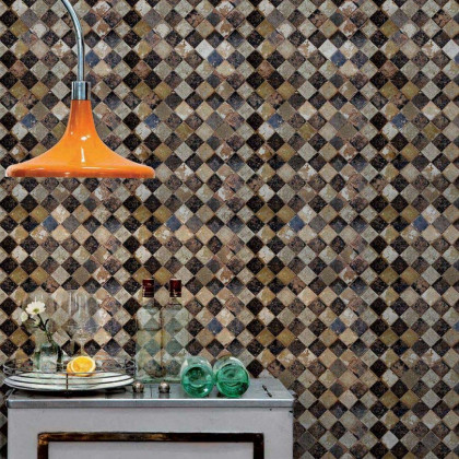 Coordonne Wallpapers Solera Chess Tiles Wallpaper