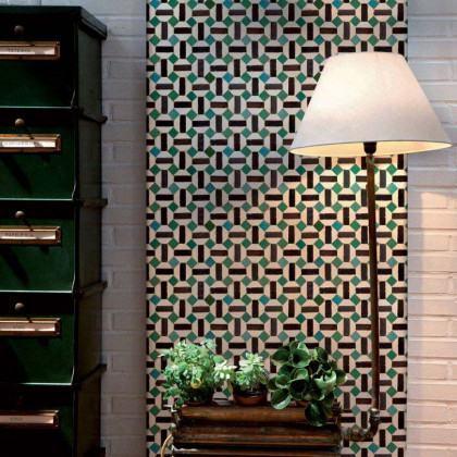 Coordonne Wallpapers Toro Tiles Wallpaper