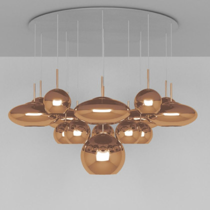 Tom Dixon Copper Mega Pendant System