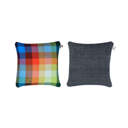 Simon Key Bertman Textile Design & Art - Chess & Dots cushion