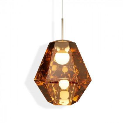 Tom Dixon Cut Tall Pendant Light - Gold