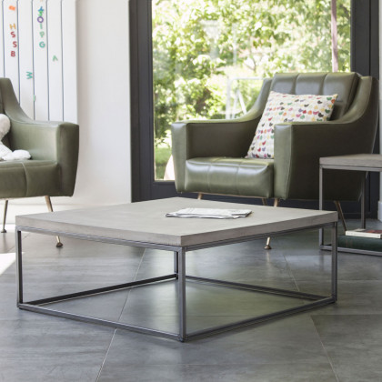 Lyon Beton Medium Perspective Concrete Coffee Table