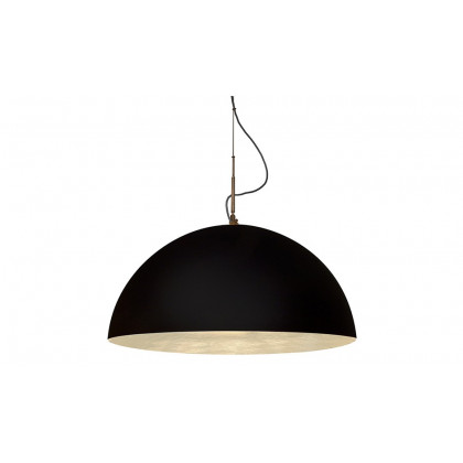 In-es.artdesign 70cm Mezza Luna Pendant Lamp - Black
