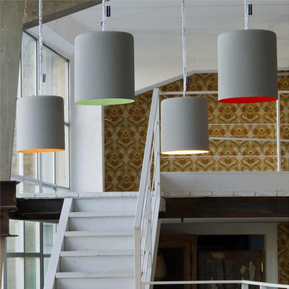 In-es.artdesign Bin Cemento Pendant Light