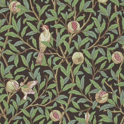 Morris and Co Bird & Pomegranate Wallpaper