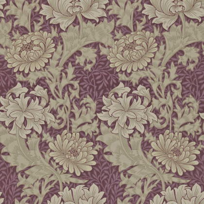 Morris and Co Chrysanthemum Wallpaper