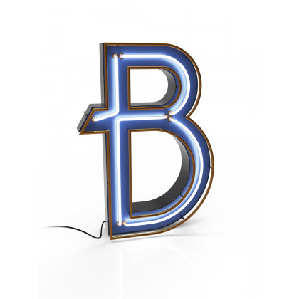 Delightfull Graphic Collection Letter B Lamp