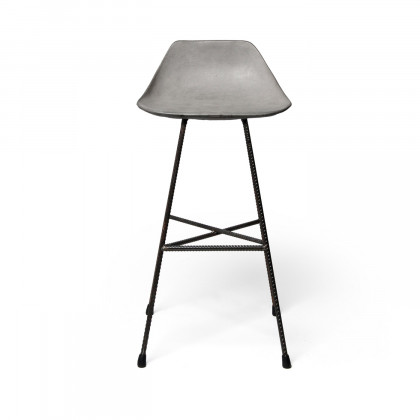 Lyon Beton Concrete Hauteville Counter Chair