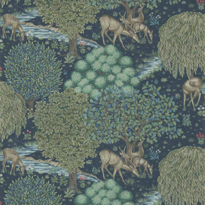 Morris and Co The Brook Wallpaper