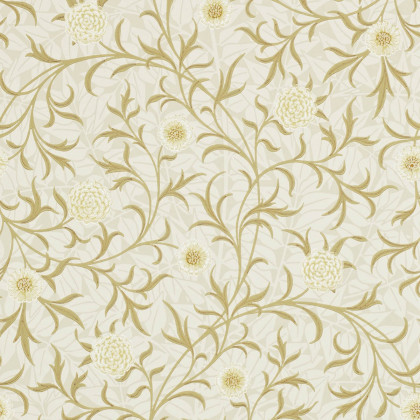 Morris and Co Scroll Wallpaper