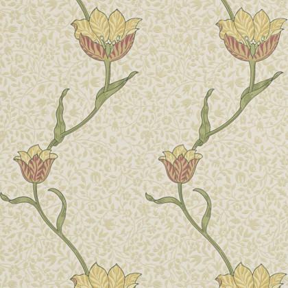 Morris and Co Garden Tulip Wallpaper