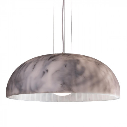 Innermost Doric Marble Pendant Light 60 By James Bartlett