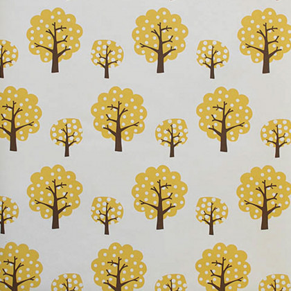 Ferm Living Dotty Wallpaper-Yellow