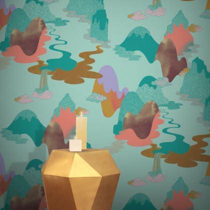 Feathr Dreamscape Wallpaper by Vilma Pellinen