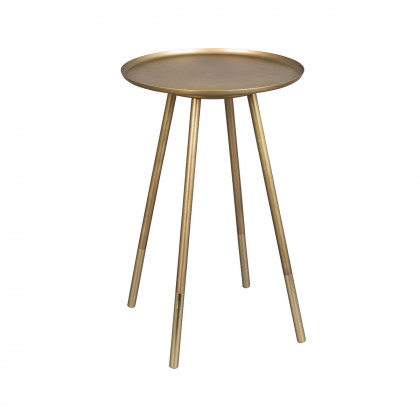 Dutchbone Eliot Brass Side Table - Round