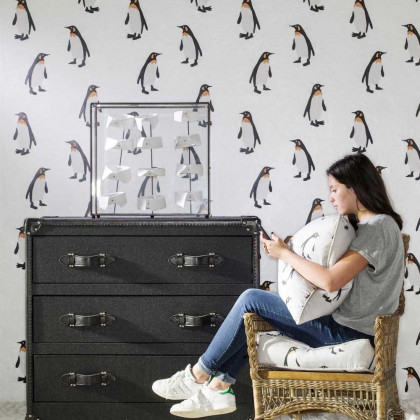 Andrew Martin Emperor Penguin Wallpaper By Holly Frean