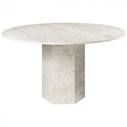 Gubi Epic Dining Table - Round, 130cm Diameter