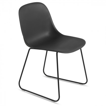 Muuto Fiber Side Chair – Sled Base