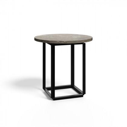 New Works Florence Side Table - Gris Du Marais