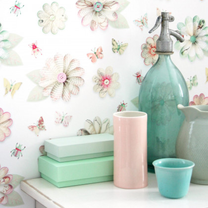 Studio Ditte Flowers Wallpaper