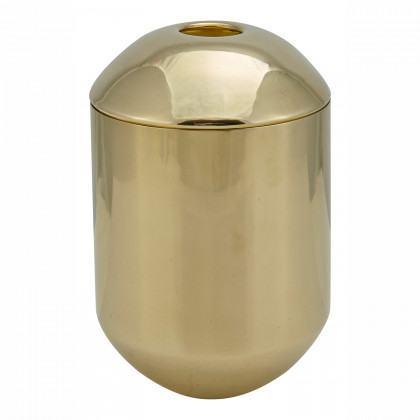 Tom Dixon Form Brass Tea Caddy