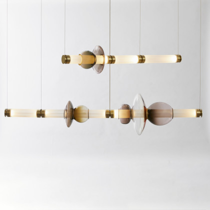 Gabriel Scott Luna Chandelier - Two Tier
