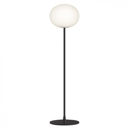 Flos Glo-Ball F Floor Lamp - Black