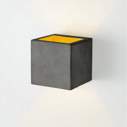 GANT B9 Square Wall Lamp - Dark Concrete