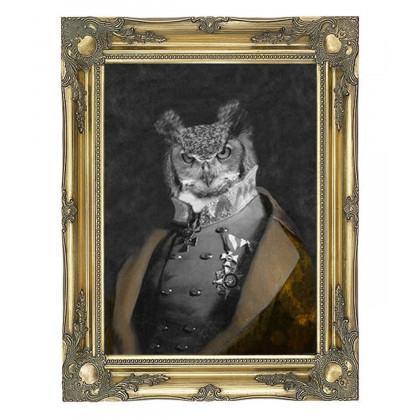Mineheart Grandfather Olaf - Gold Edition Canvas