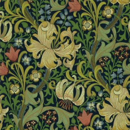 Morris and Co Golden Lily Wallpaper