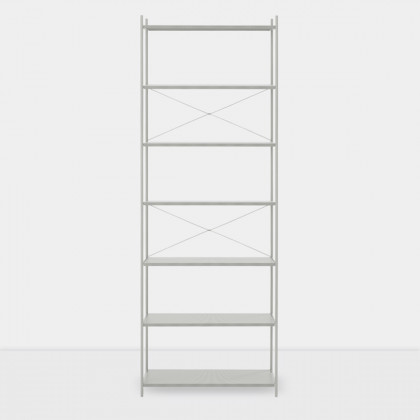Ferm Living Punctual Shelving System -Grey-1x7