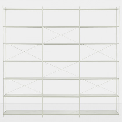 Ferm Living Punctual Shelving System -Grey-3x7