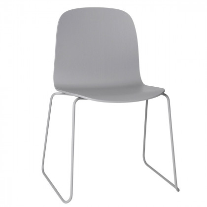 Muuto Visu Chair Sled Base-Grey