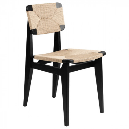 Gubi C-Chair Dining Chair - Paper Cord