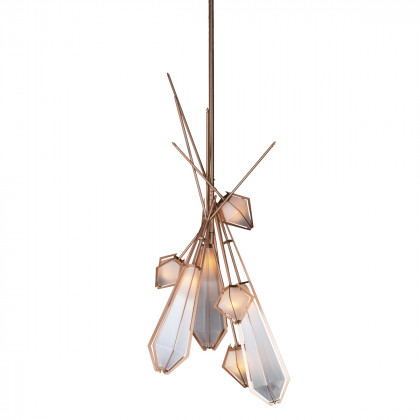 Gabriel Scott Harlow Dried Flowers Chandelier