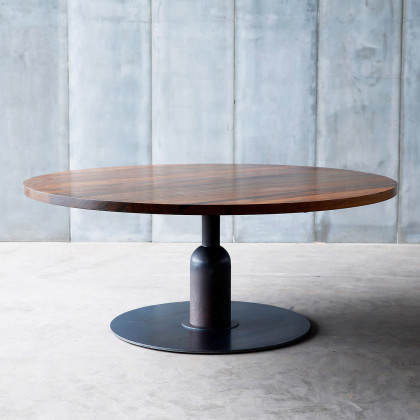 Heerenhuis Apollo XXL walnut Cafe Table MTM