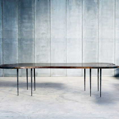 Heerenhuis Live Edge Bisbal Walnut Table - Limited Edition