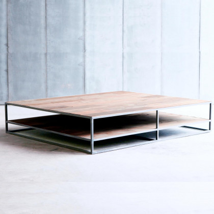 Heerenhuis Mesa DD Reclaimed Teak Coffee Table MTM