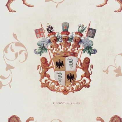 Mind The Gap Heraldry Wallpaper