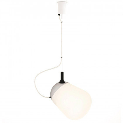 Vertigo Bird Hippo Suspension Lamp - White