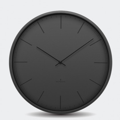 Huygens Tone Wall Clock - Black