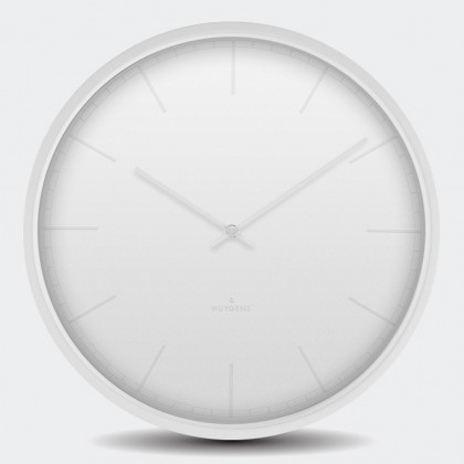 Huygens Tone Wall Clock -White