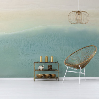 Feathr Island Life Mural Wallpaper