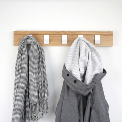 John Green Oak 45 Coat Hanger