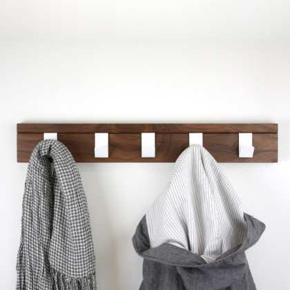 John Green Walnut 45 Coat Hanger