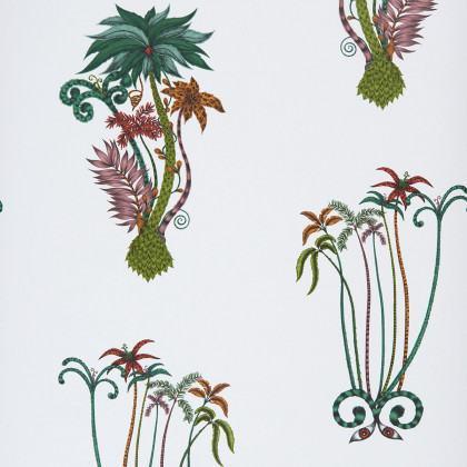 Emma J Shipley for Clarke & Clarke Jungle Palms Wallpaper
