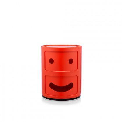 Kartell Componibili Round Storage - Smile